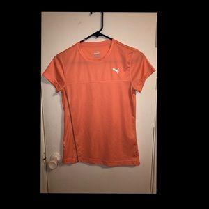 """small puma """"dry sell"""" shirt"""